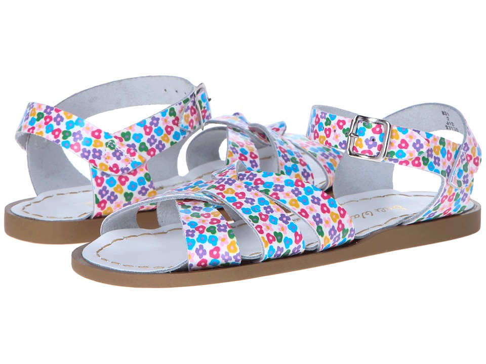 Salt Water Sandal by Hoy Shoes The Original Sandal (Toddler/Little Kid) (Floral) Girls Shoes