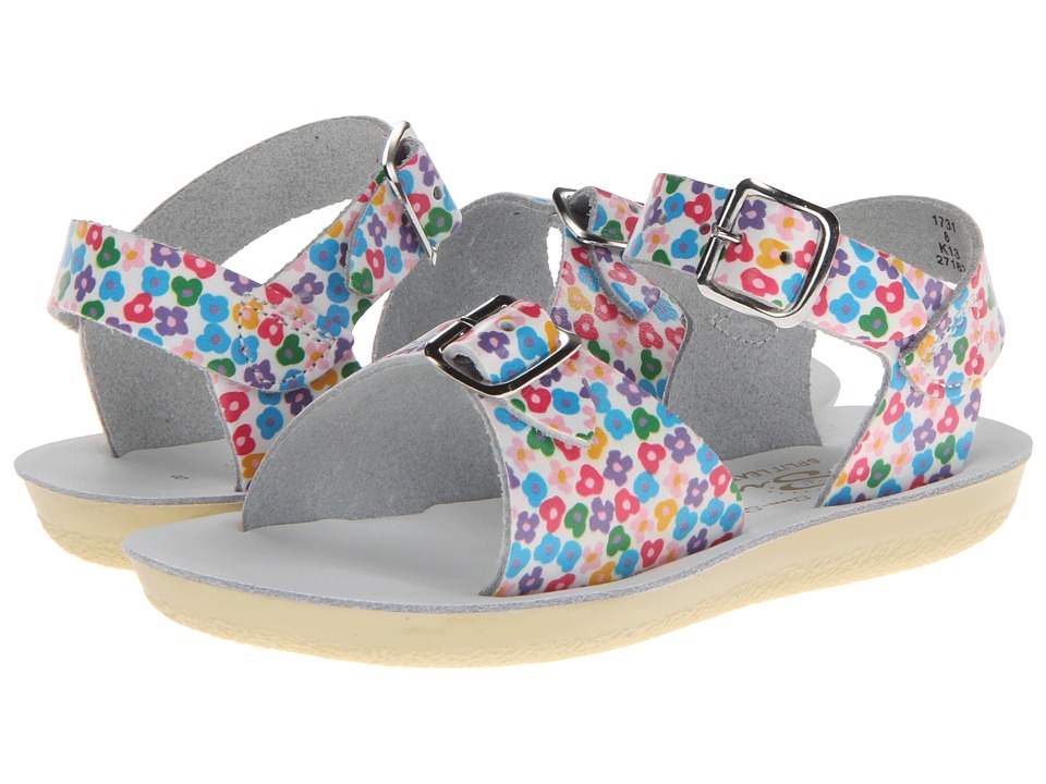 Salt Water Sandal by Hoy Shoes Sun-San Surfer (Toddler/Little Kid) (Floral) Girls Shoes