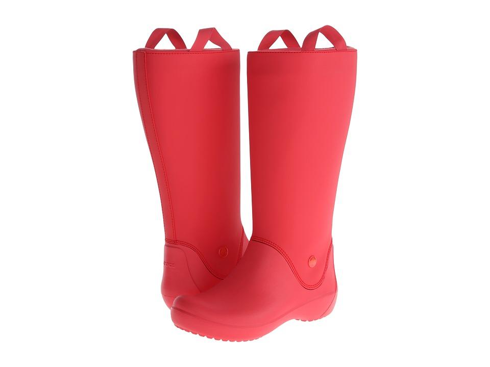 Crocs - Rainfloe Boot (Red/Red) Women
