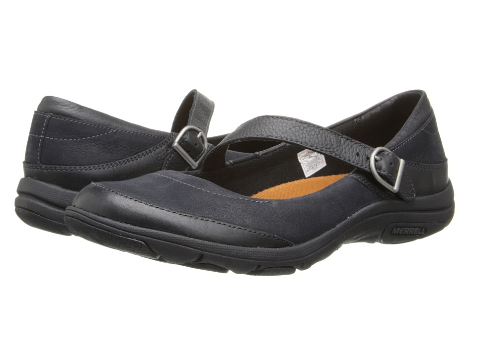 Merrell - Dassie MJ (Black) Womens Maryjane Shoes