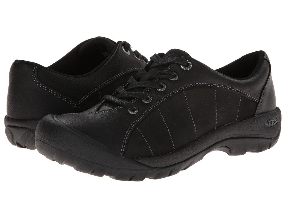 Keen - Presidio (Black/Magnet) Womens Lace up casual Shoes