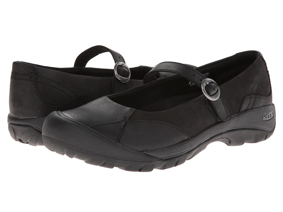 Keen Presidio MJ (Black) Women's Maryjane Shoes