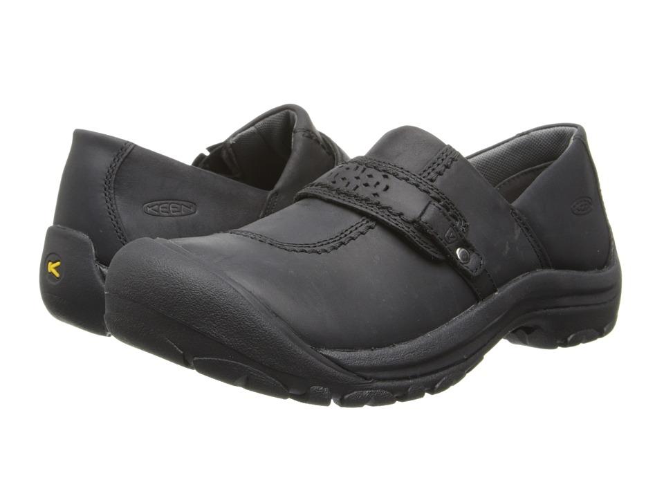 Keen Kaci Full Grain Slip-On (Black) Slip-On Shoes
