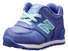 New Balance Kids 574 Infant, Toddler Purple Shoes