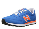 New Balance Kids KL501 Little Kid, Big Kid Blue, Orange Shoes