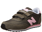 New Balance Kids KE410 Infant, Toddler Dark Grey, Pink Shoes