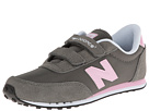 New Balance Kids KE410 Little Kid, Big Kid Dark Grey, Pink Shoes