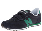 New Balance Kids KE410 Little Kid, Big Kid Navy, Green Shoes