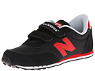 New Balance Kids KE410 Little Kid, Big Kid Black, Red 14 Shoes