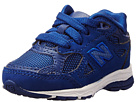 New Balance Kids 990v3 Infant, Toddler Blue 14 Shoes