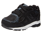 New Balance Kids 990v3 Infant, Toddler Black Shoes