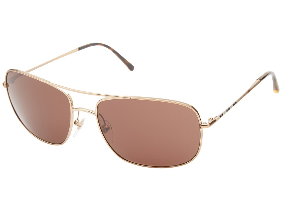 Burberry 0BE3077 House Check/Brown Fashion Sunglasses