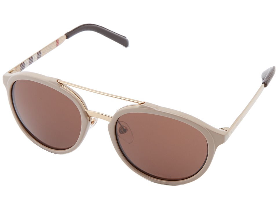 Burberry 0BE4168Q Beige/Brown Fashion Sunglasses