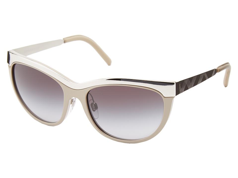 Burberry 0BE3076Q Beige/Grey Gradient Fashion Sunglasses