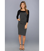 Laundry by Shelli Segal - 3/4 Sleeve Fitted Dress
