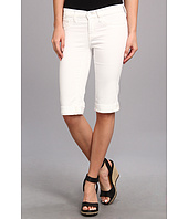 Henry & Belle - Slim Bermuda in White