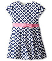 Toobydoo - Dress Flower w/ Pink Bow (Toddler/Little Kids/Big Kids)