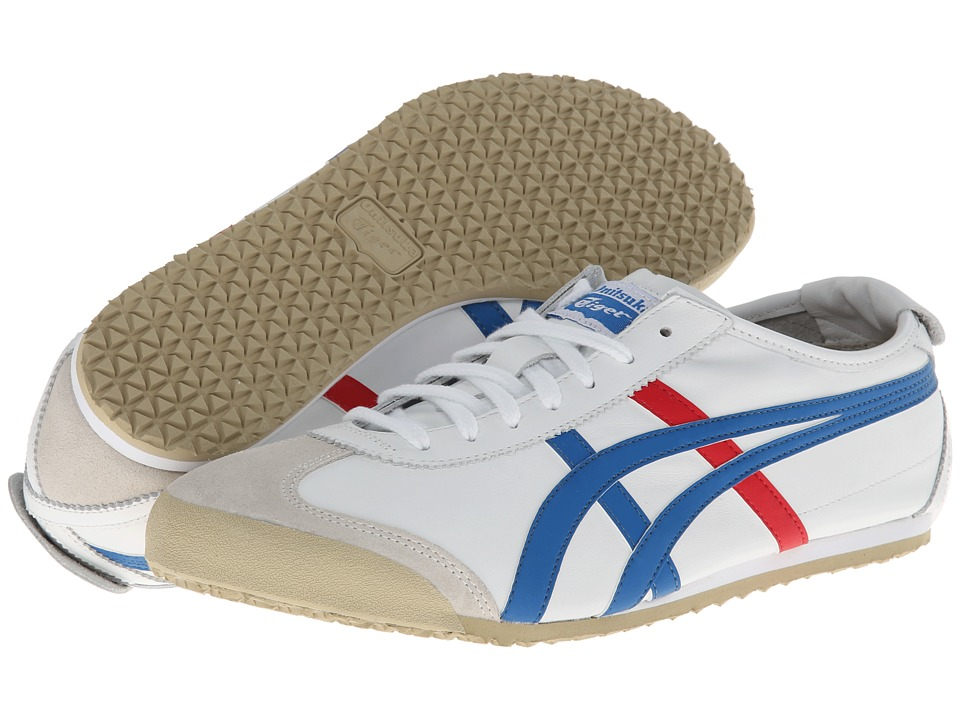 Onitsuka Tiger by Asics Mexico 66 (White/Blue) Lace up casual Shoes