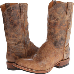 M2651 (Distressed Casual Tan) Cowboy Boots