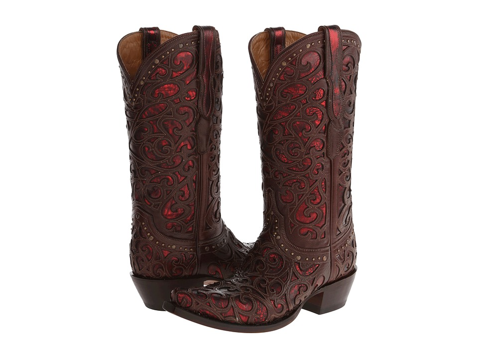 Lucchese M4840 (Whiskey) Cowboy Boots