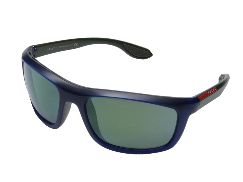 Prada Linea Rossa 0PS 04PS Blue/Grey Demi Shiny Fashion Sunglasses