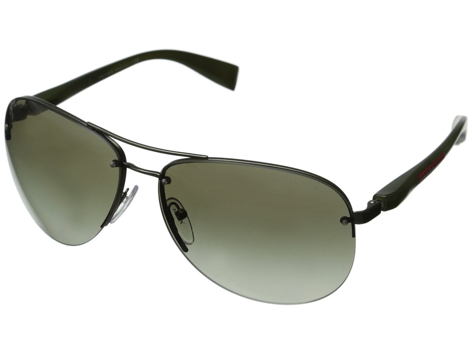 Prada Linea Rossa 0PS 56MS Green/Green Gradient Fashion Sunglasses