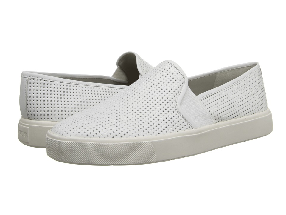 Vince Blair 5 (White) Women's Slip on  Shoes