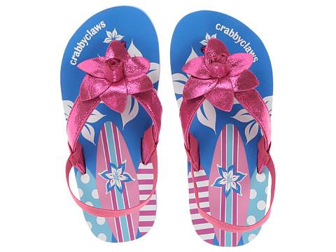 Crabbyclaws Surfboard (Toddler/Little Kid/Big Kid) - Magenta Glitter