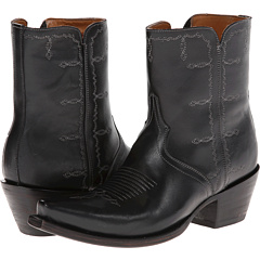 M4848 (Demi Boot Inside Zip Black) Cowboy Boots