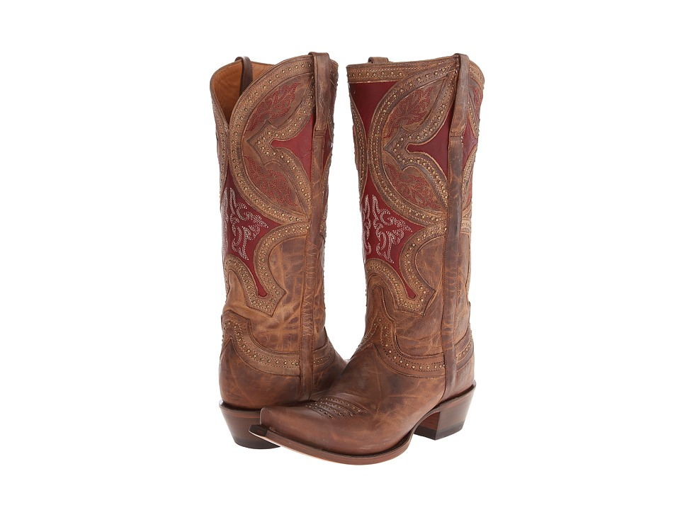 Lucchese M4861 (Nude) Cowboy Boots