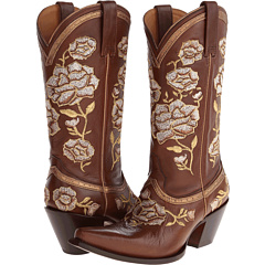 "M4857 (Floral ""Torero"" Whiskey) Cowboy Boots"