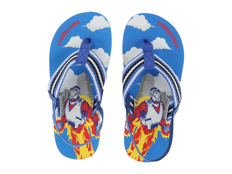 Crabbyclaws Hero Toddler/Little Kid/Big Kid Blue Boys Shoes