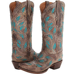 M4866 (Custom Hardware Chocolate) Cowboy Boots