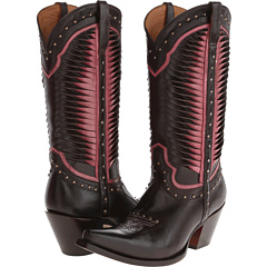 M4874 (Twisted Leather Pink/Chocolate) Cowboy Boots