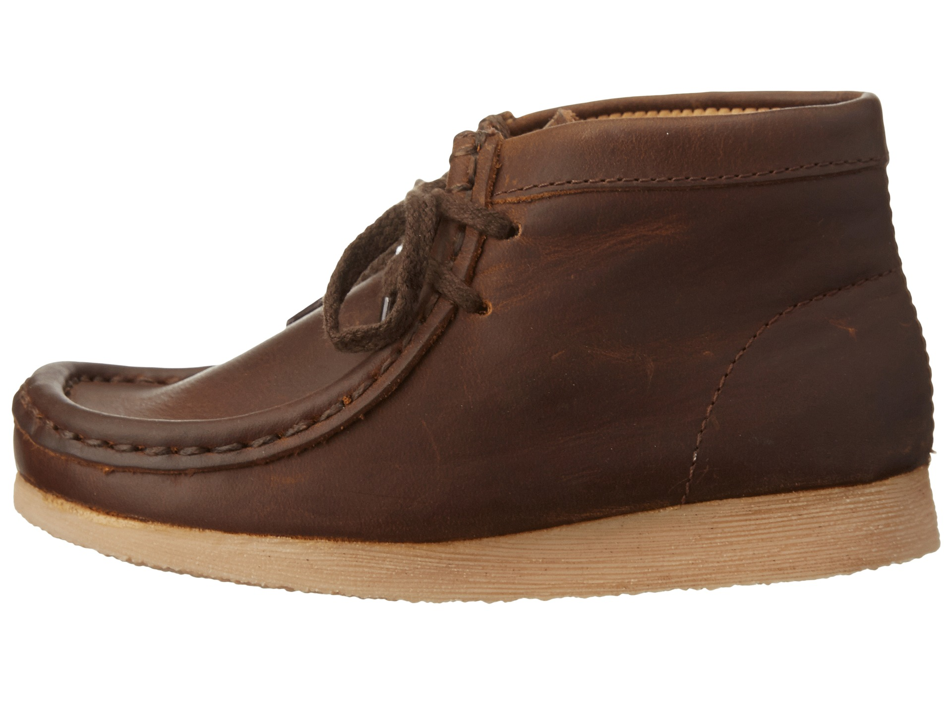 Clarks Kids Wallabee (Toddler) - Zappos.com Free Shipping ...