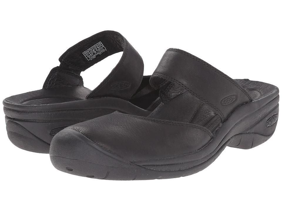 Keen - Saratoga Full-Grain (Black) Women's Shoes