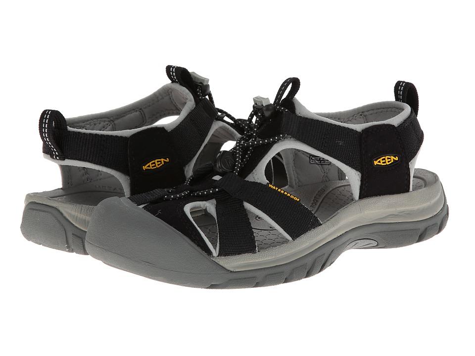 Keen Venice H2 (Black/Neutral Gray) Sandals