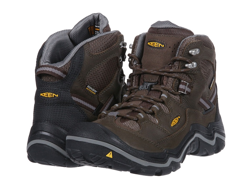 Keen Durand Mid WP (Cascade Brown/Gargoyle) Men