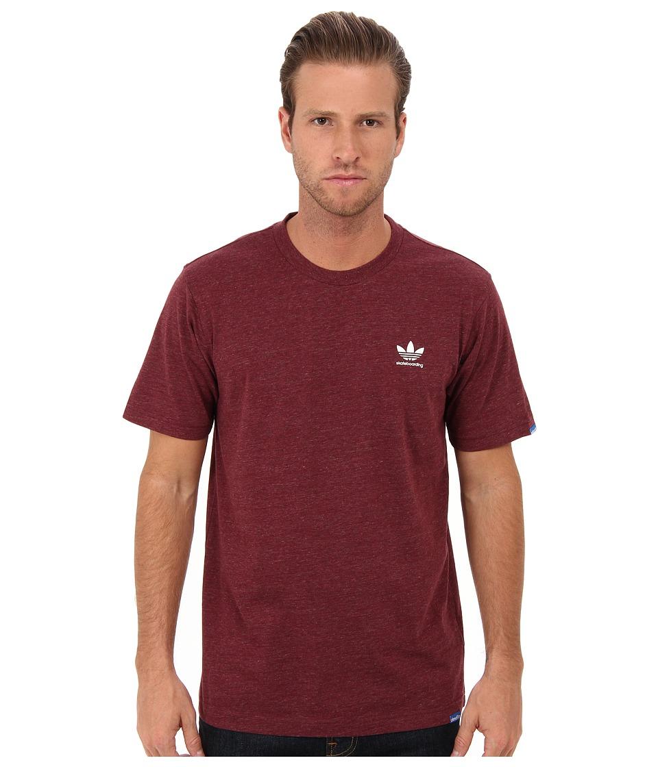 adidas Skateboarding ADV Tee Cardinal Mens T Shirt