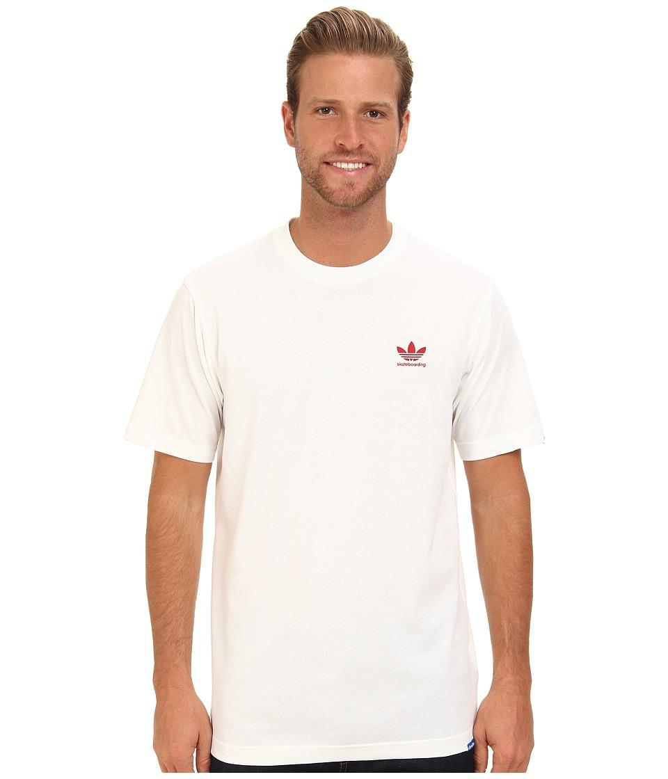 adidas Skateboarding ADV Tee White Mens T Shirt
