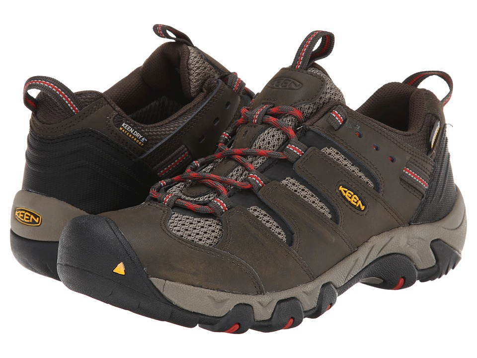 Keen - Koven Low WP (Black Olive/Bossa Nova) Men