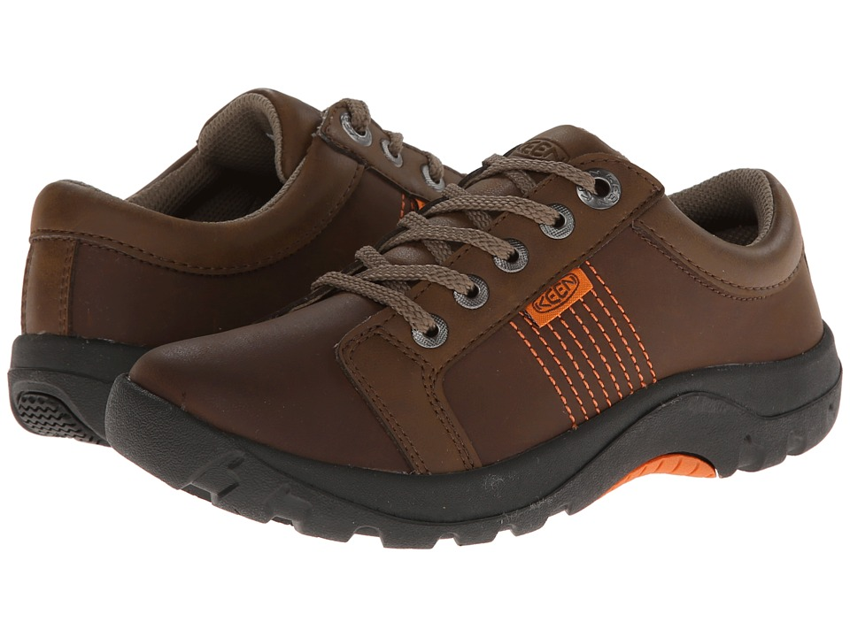 Keen Kids Austin II Little Kid/Big Kid Dark Earth/Burnt Orange Boys Shoes