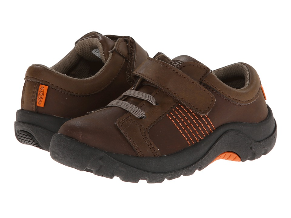 Keen Kids Austin II Toddler/Little Kid Dark Earth/Burnt Orange Boys Shoes