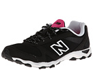 New Balance Classics WL661v3 Fashion Trail Black, Pink Glo Shoes