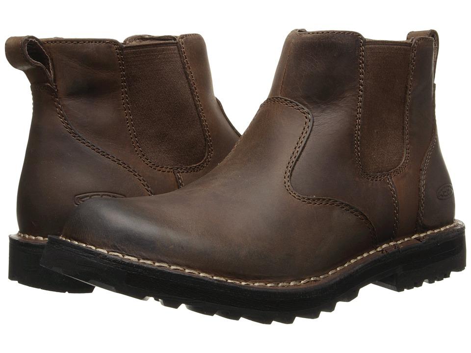 Keen - Tyretread Chelsea (Peanut) Men's Pull-on Boots