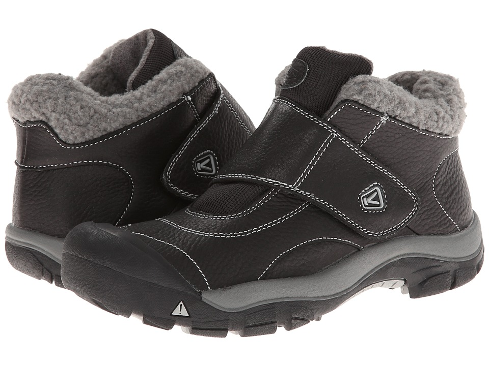 Keen Kids - Kootenay (Little Kid/Big Kid) (Black/Neutral Gray) Kids Shoes