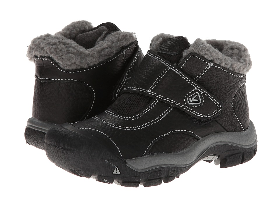 Keen Kids - Kootenay (Toddler/Little Kid) (Black/Neutral Gray) Kids Shoes