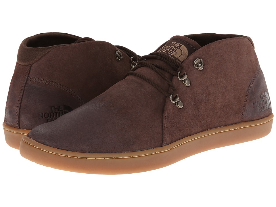 The North Face Base Camp Leather Chukka Demitasse Brown/Moab Khaki Mens Shoes