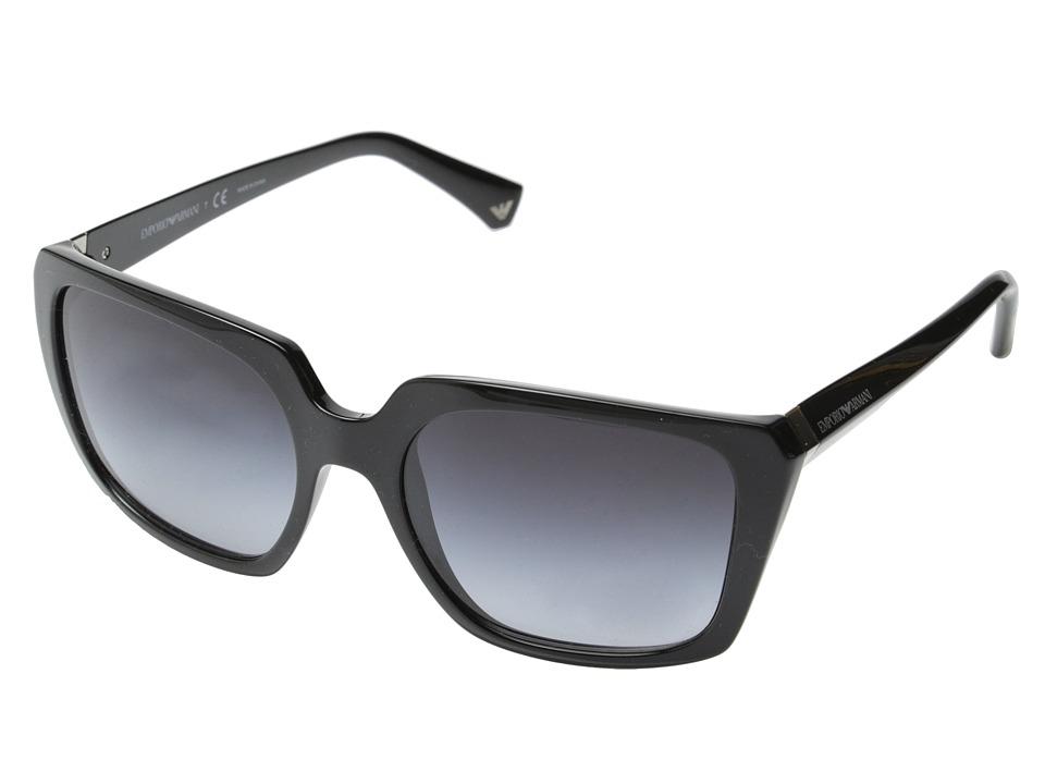 Emporio Armani 0EA4026 Black/Grey Gradient Fashion Sunglasses