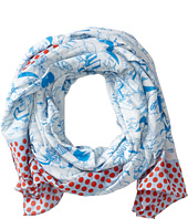 Marc by Marc Jacobs - Doodle Print Scarf